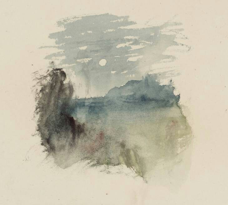 Turner Vignette Study William Turner Joseph Mallord William