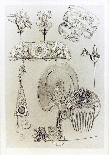 Alfons Maria Mucha / Documents Décoratifs