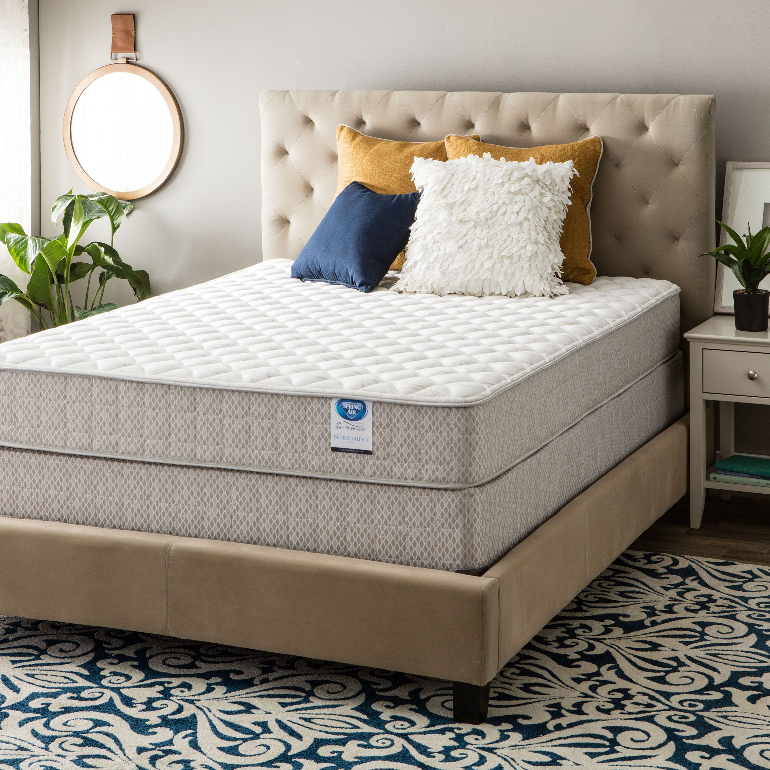 top mattress item number plush euro supportflex rose set t products and gold king sealy