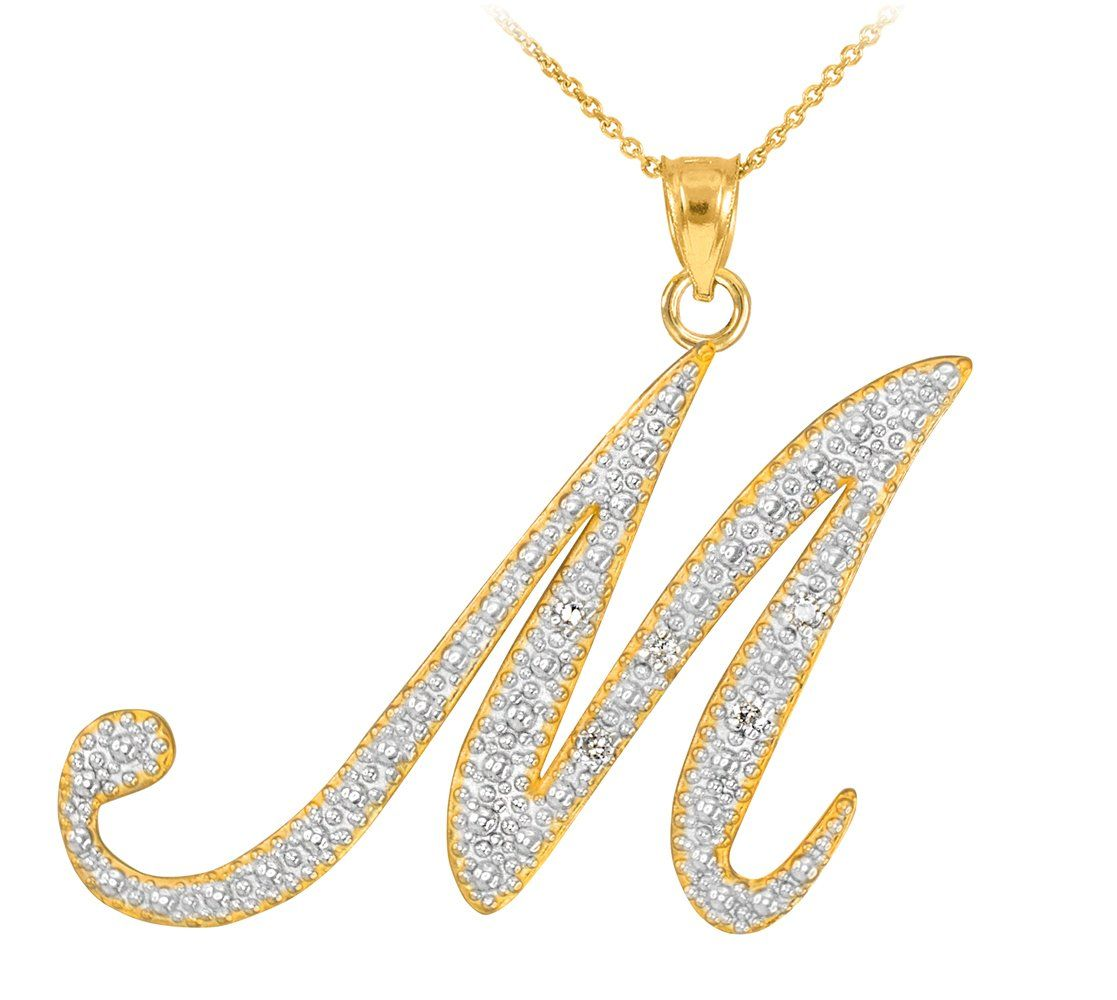 39+ Letter pendant necklace gold philippines trends
