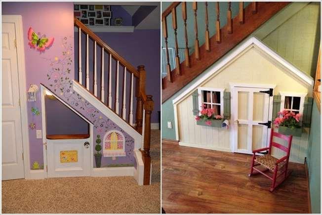 La casa de mu ecas bajo las escaleras bajo las escaleras for Cama bajo escalera