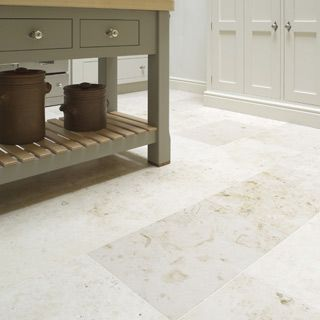 St Aubin Contemporary Limestone Flooring. Kitchen ...