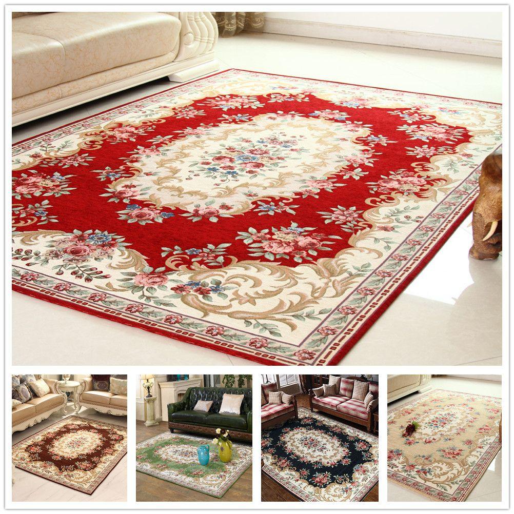 Jacquard Living Room Parlor Carpet