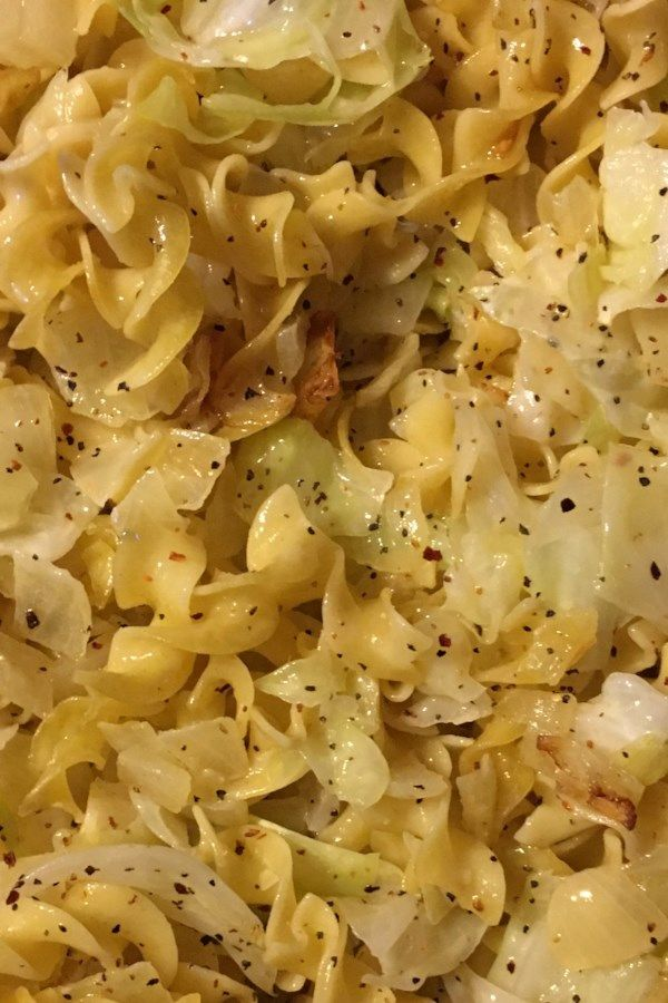 Photo of Haluski – Cabbage and Noodles Recipe