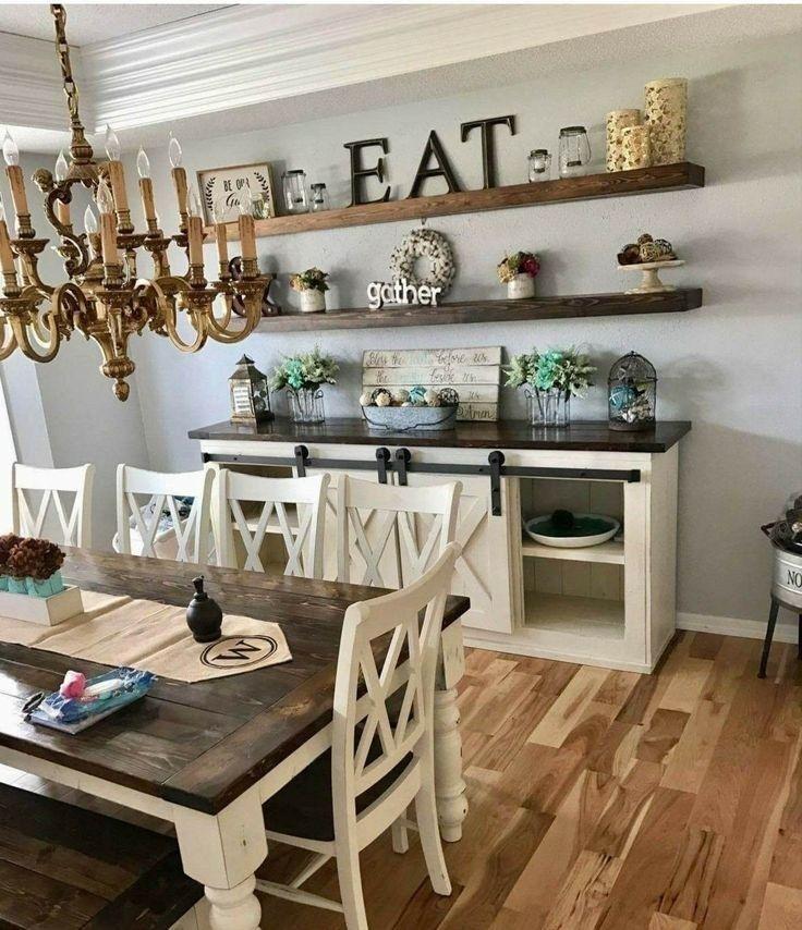 30 wonderful farmhouse style dining room design ideas 2019 28 | Autoblog