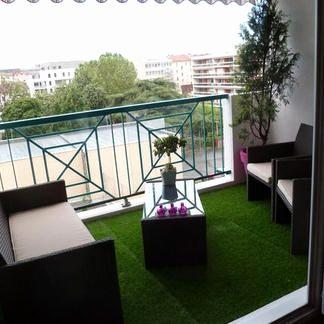 Beau Petit Salon De Jardin Balcon Decoration Francaise