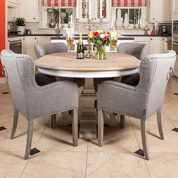 20+ Dining table and upholstered chairs Top