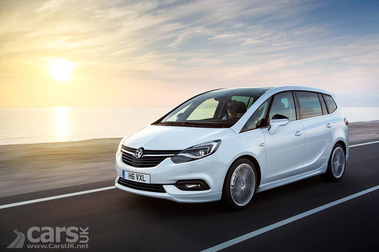 New Vauxhall Zafira Tourer Gets An Astra Makeover For 2017 Vauxhall Opel Opel Meriva
