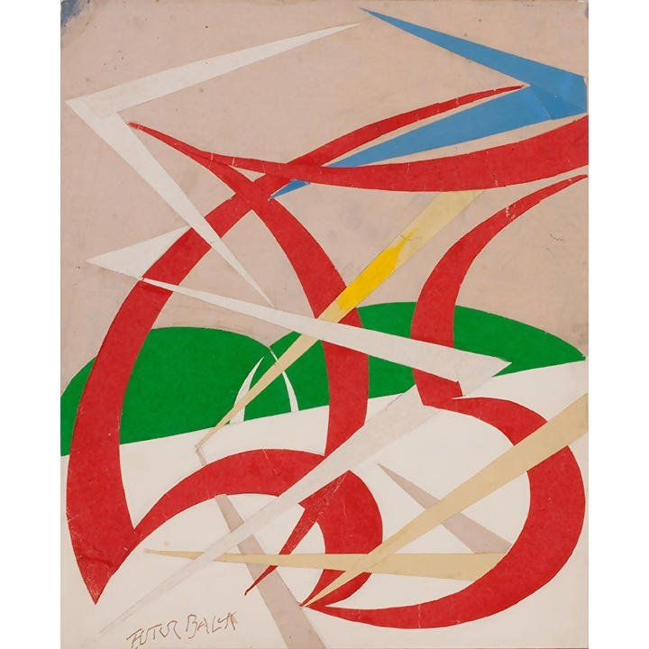 Giacomo Balla : our behavior is a mix of cover ups and compromises.