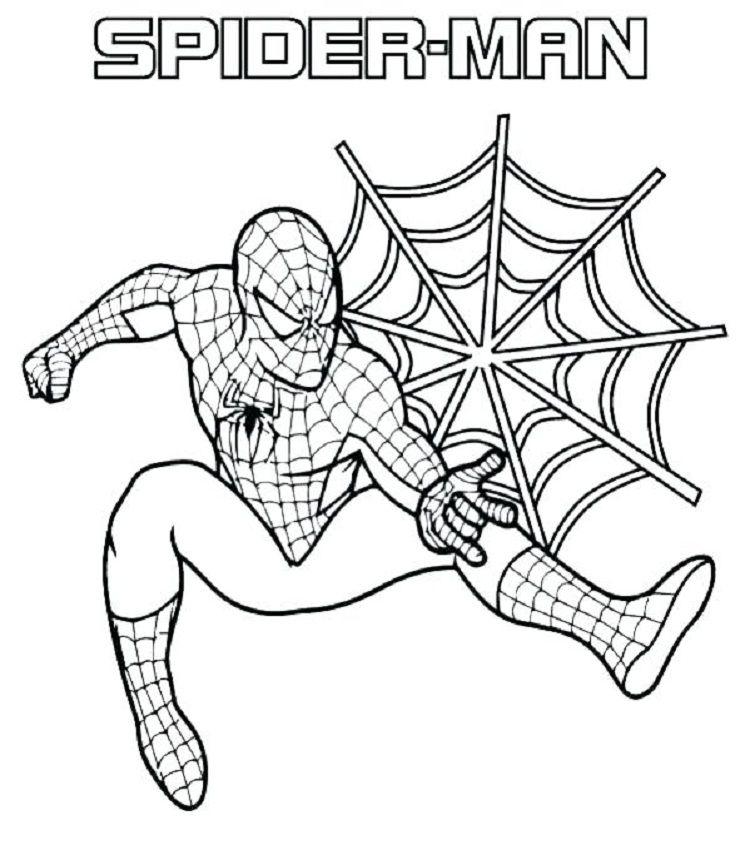 Spiderman Coloring Pages Orumcek Adam Cizgi Film Orumcek