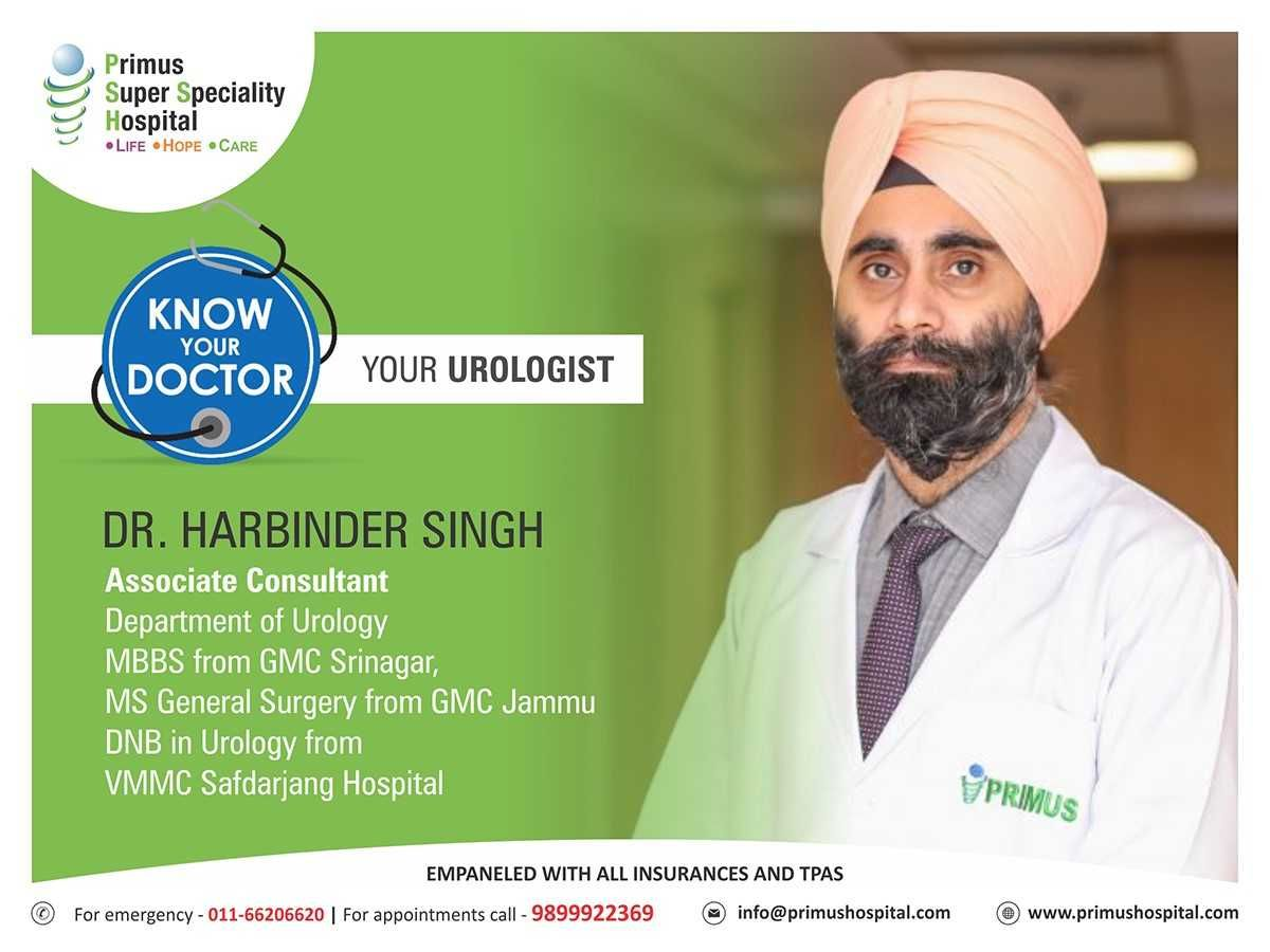 Dr Harbinder Singh Is An Associate Consultant In The Department
