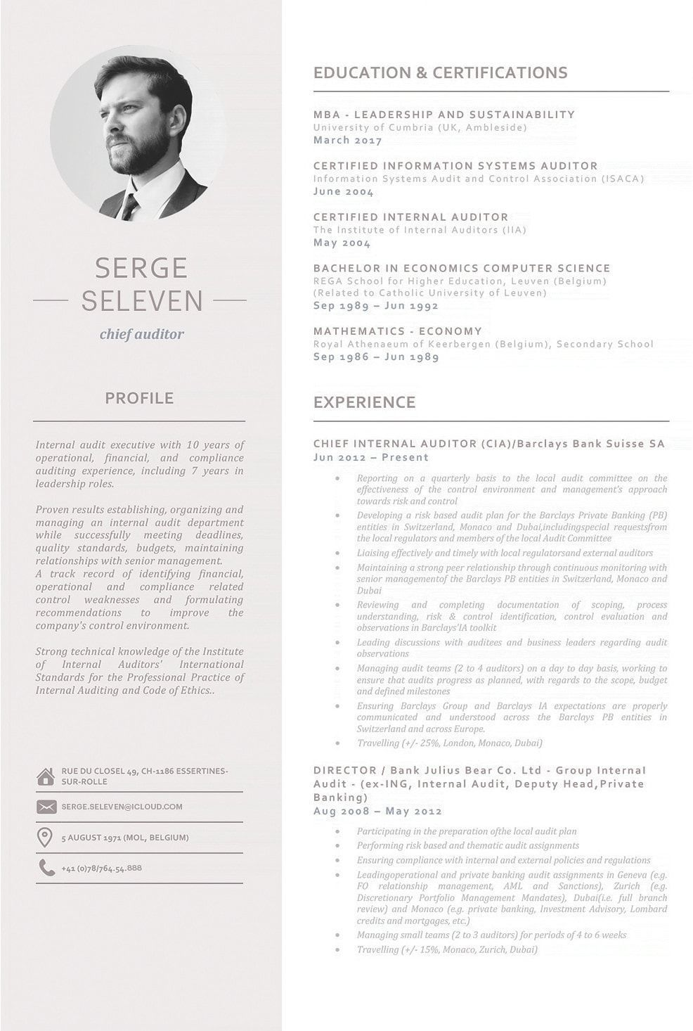 Explore our showcase of stunning resumes were designed