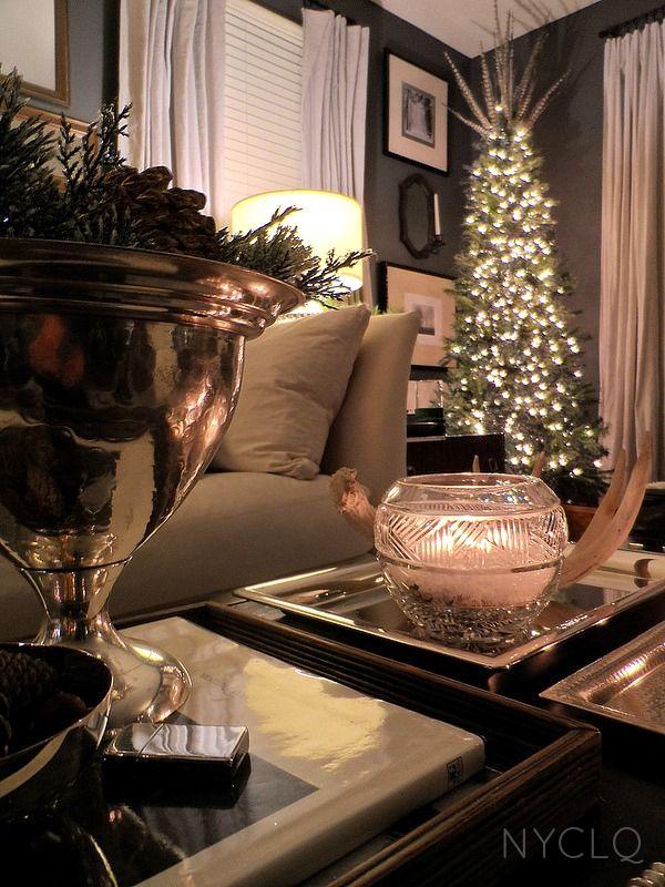 Holiday Style Moodboard Monday  More! Navidad, La la la y - decoraciones navideas para el hogar