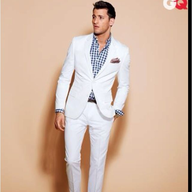 Love ... Can't wait to bust out my white suit | My Style | Pinterest