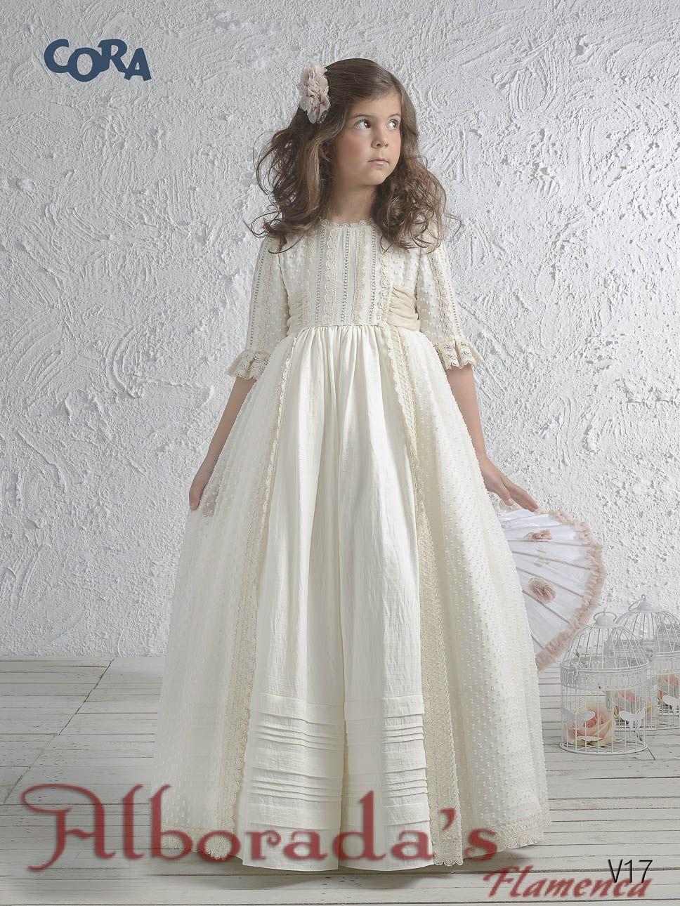 Vestidos de comunion cora 2019 precios