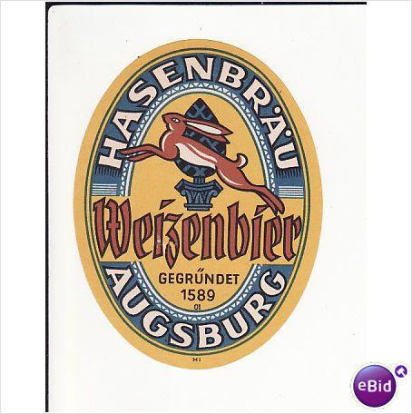 German Beer Labels Old german beer label Beer - Labels - beer label