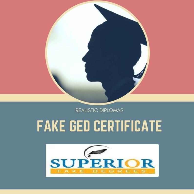 Fake Ged Gcse Diploma And Certificates Fake Ged Certificate