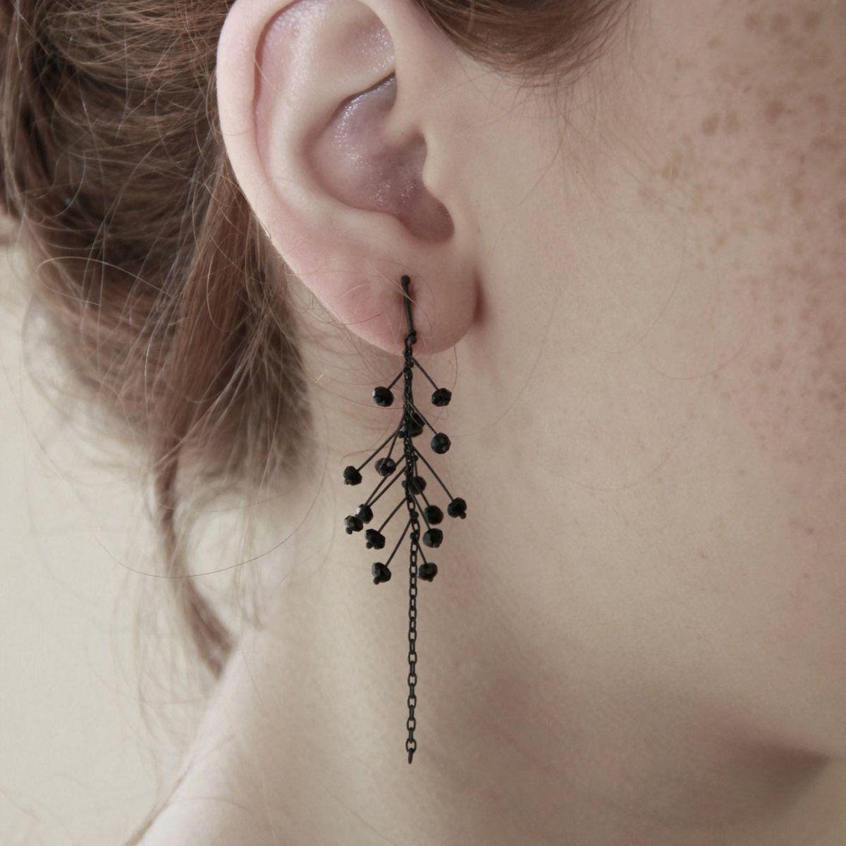 .Branch Earrings by Iris Guy Sofer