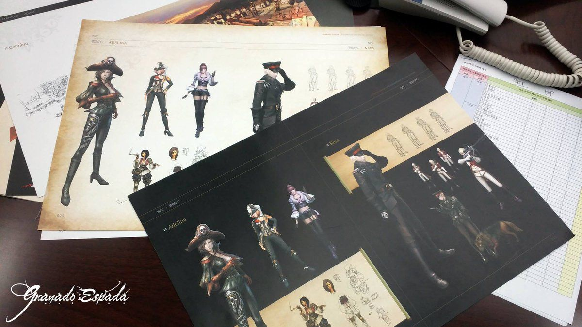 What, Granado Espada Artbook?????? I want them