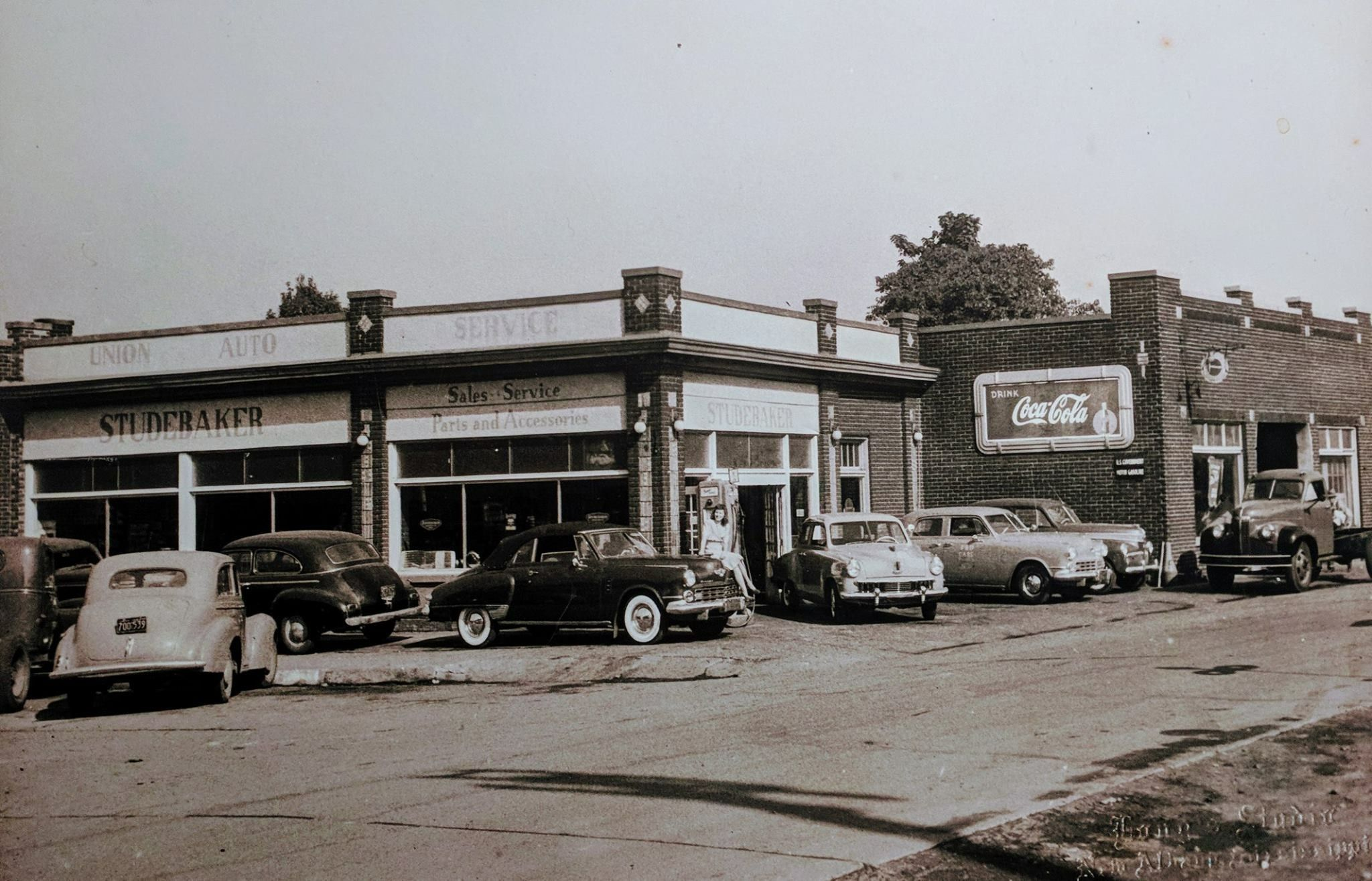 Studebaker Dealership on Railroad Avenue New Albany Ms