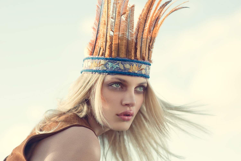 Melissa Rodwell e suas fotografias de moda - BLCKDMNDS