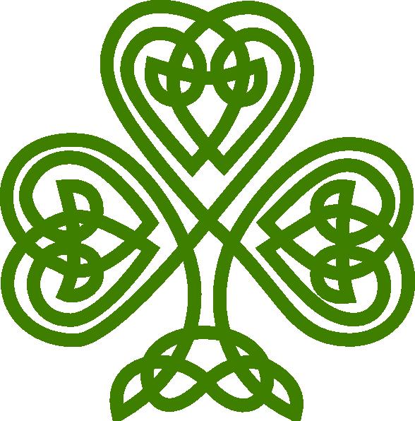 irish celtic clover art celtic shamrock clip art vector clip art rh pinterest com au irish clip art borders irish clip art graphics