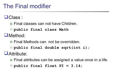 Top 21 Java Final Modifier Keyword Interview Questions And