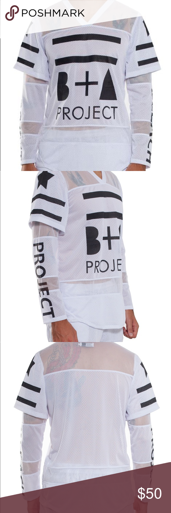 Bleach project mesh shirt Brand: bleach project. Sold out online. Men's size small. In good condition , I have had this for 2 years. No holes , rips, stains. Feel free to ask questions ! Supreme Shirts Tees - Long Sleeve
