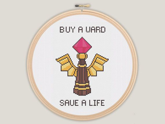 Vision Ward  League of Legends Cross Stitch