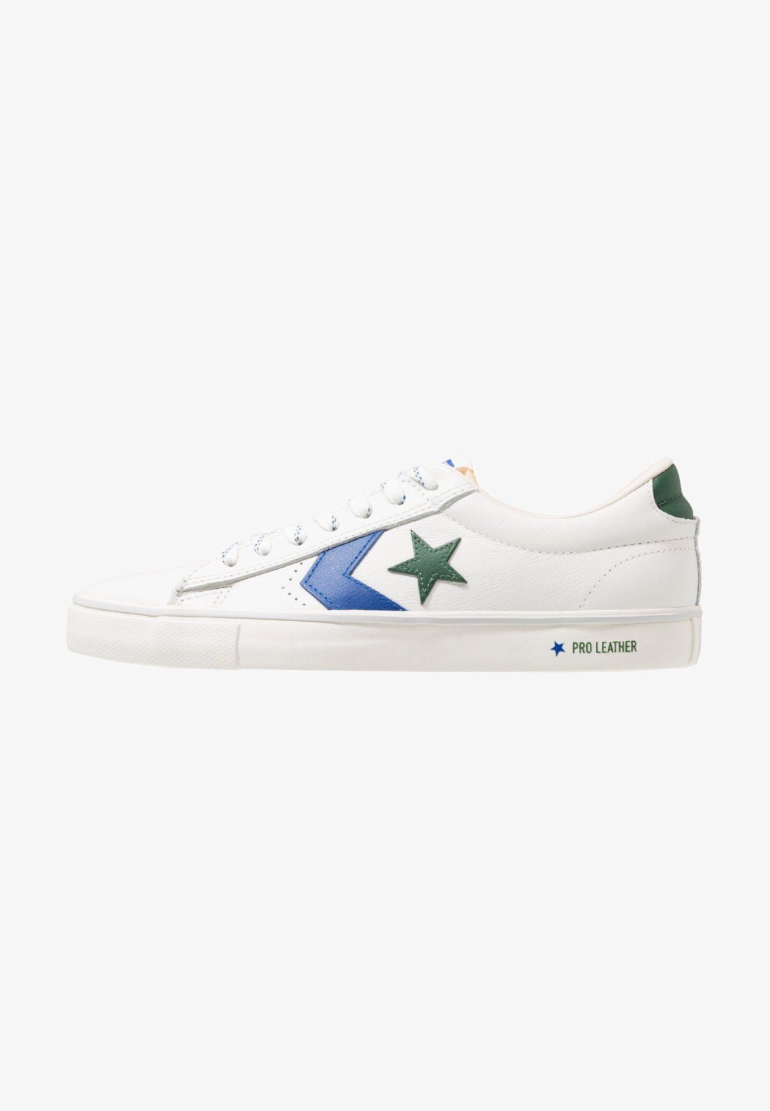 sports shoes 3777b dd765 Converse PRO VULC - Trainers - vintage white blue fire - Zalando.co.uk