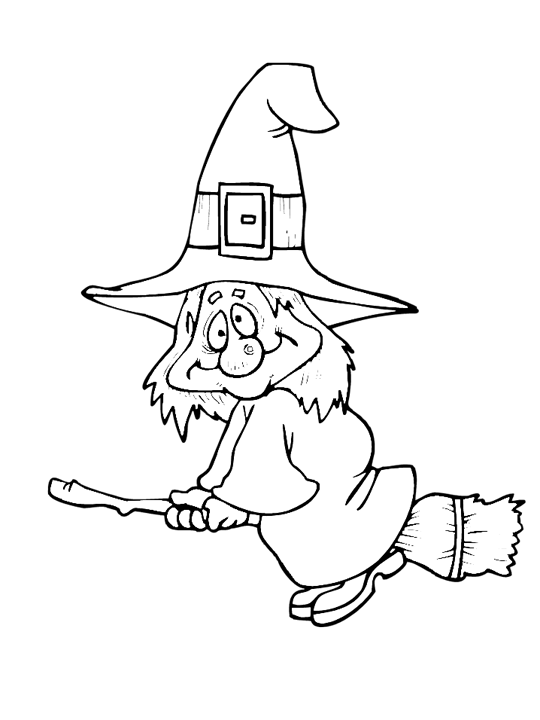 Halloween Witch Coloring Page Purple Kitty Witch Coloring Pages Halloween Coloring Halloween Coloring Sheets