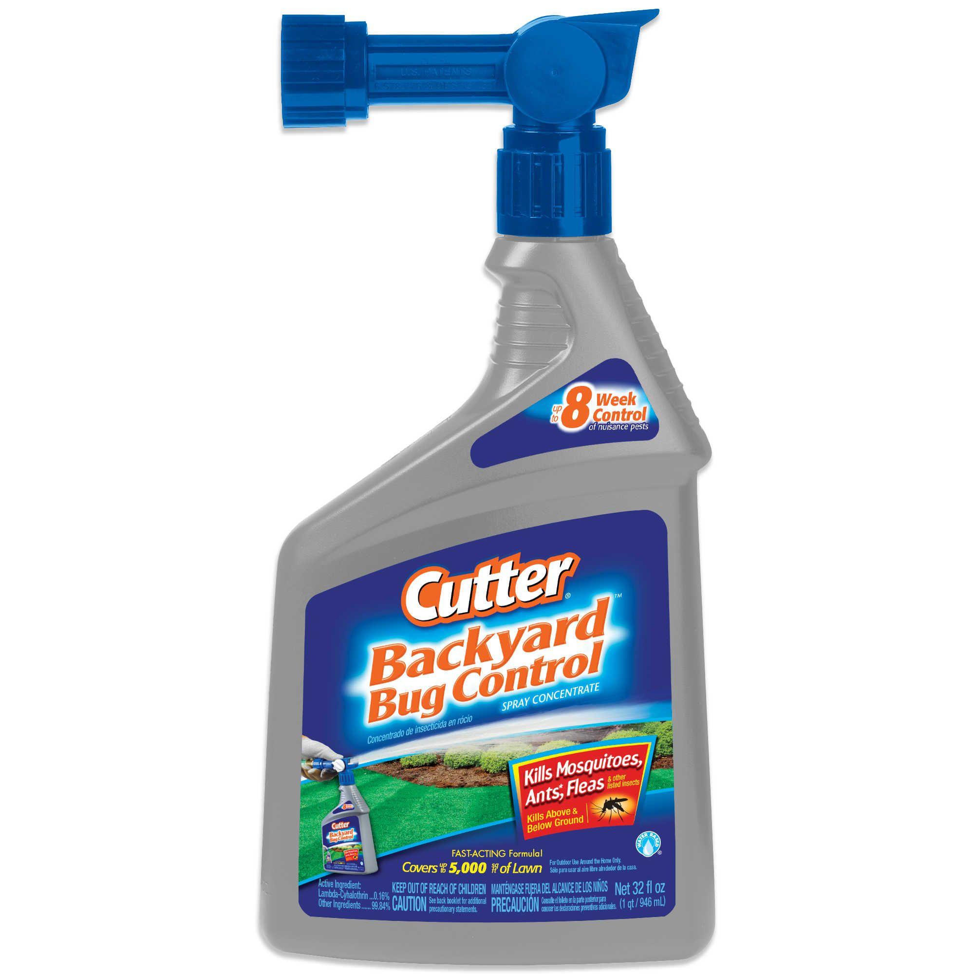 Cutter backyard 32ounce bug control spray concentrate