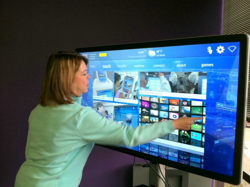 Large Touch Screen >> Large Touch Display Interface Design For Touchscreen