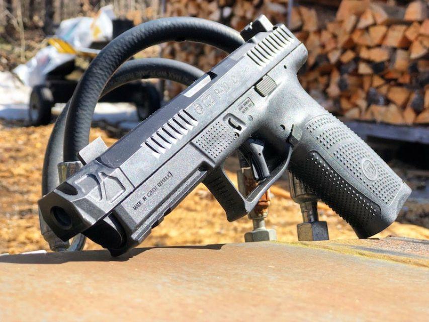 PMM CZ P10C Compensator   Accessories   Threaded barrel, Hand guns