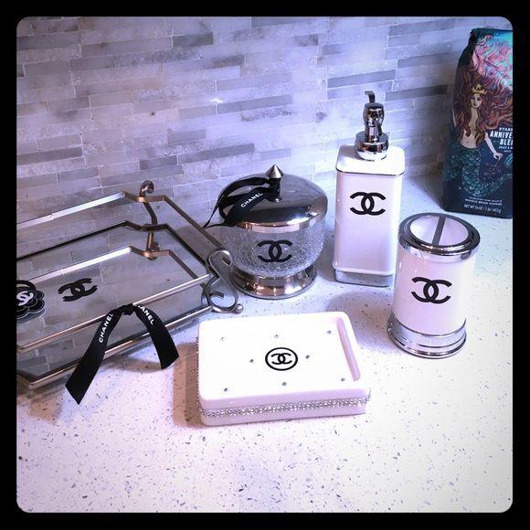 Chanel Bathroom Decor Chanel Inspired Room Chanel Decor