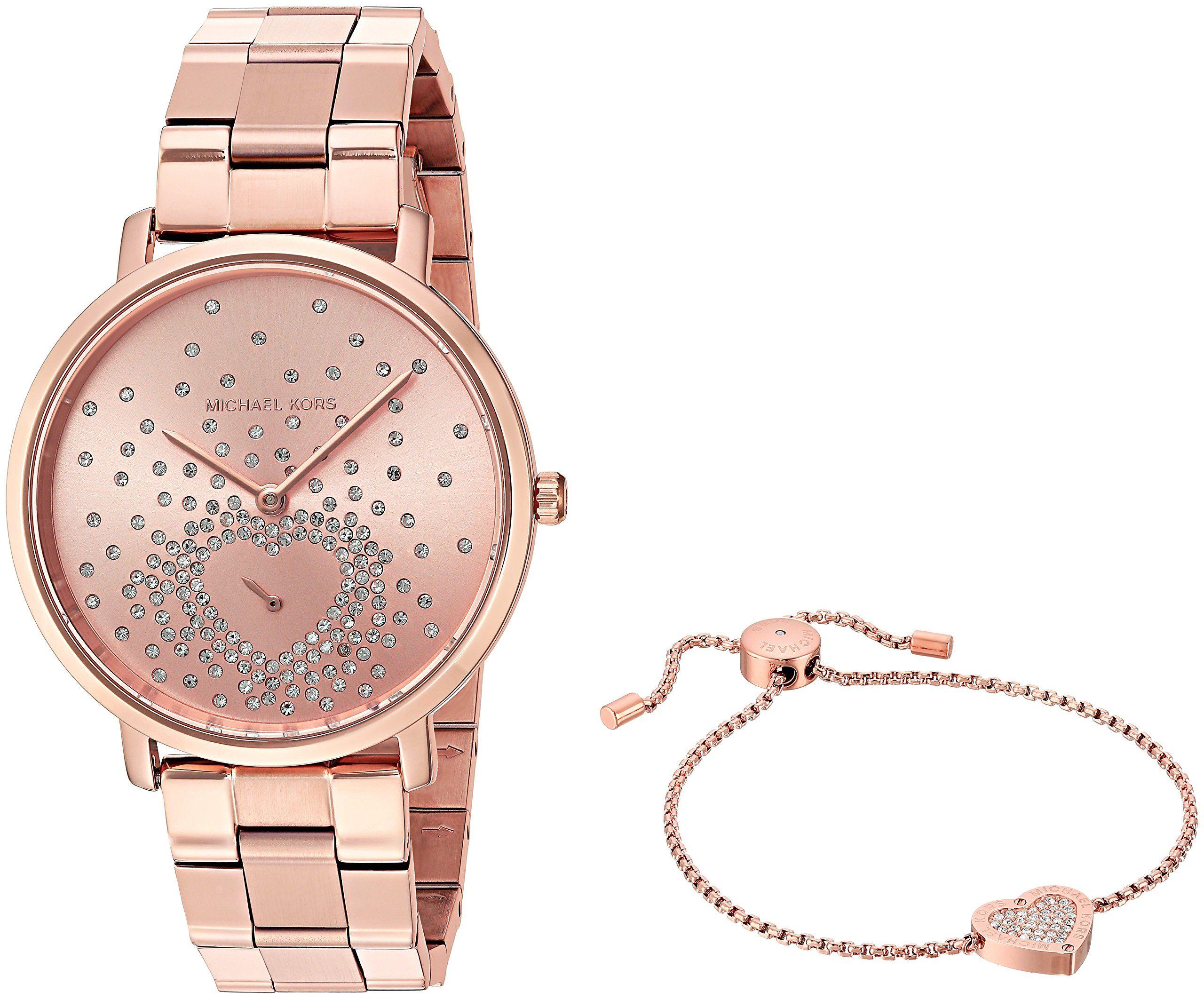 Michael Kors Women's Jaryn Rose Gold-Tone Watch MK3621