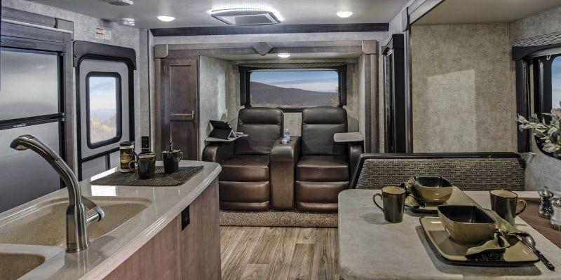 Eagle Cap Luxury Truck Camper Model 1165 Truck Camper Camper