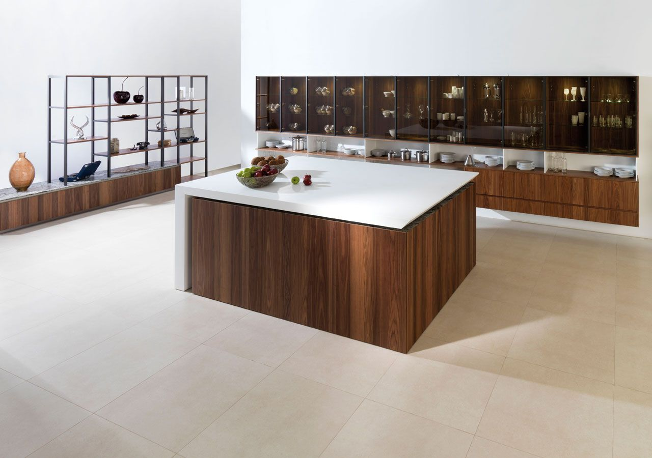 Mobiliario De Cocina Evolution E6 90 Nogal Seda Cocina  # Muebles Evolution