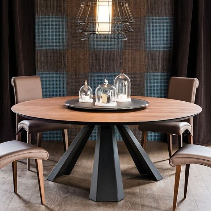 Table Ronde Salle A Manger Meuble Pinterest Table ronde, Table