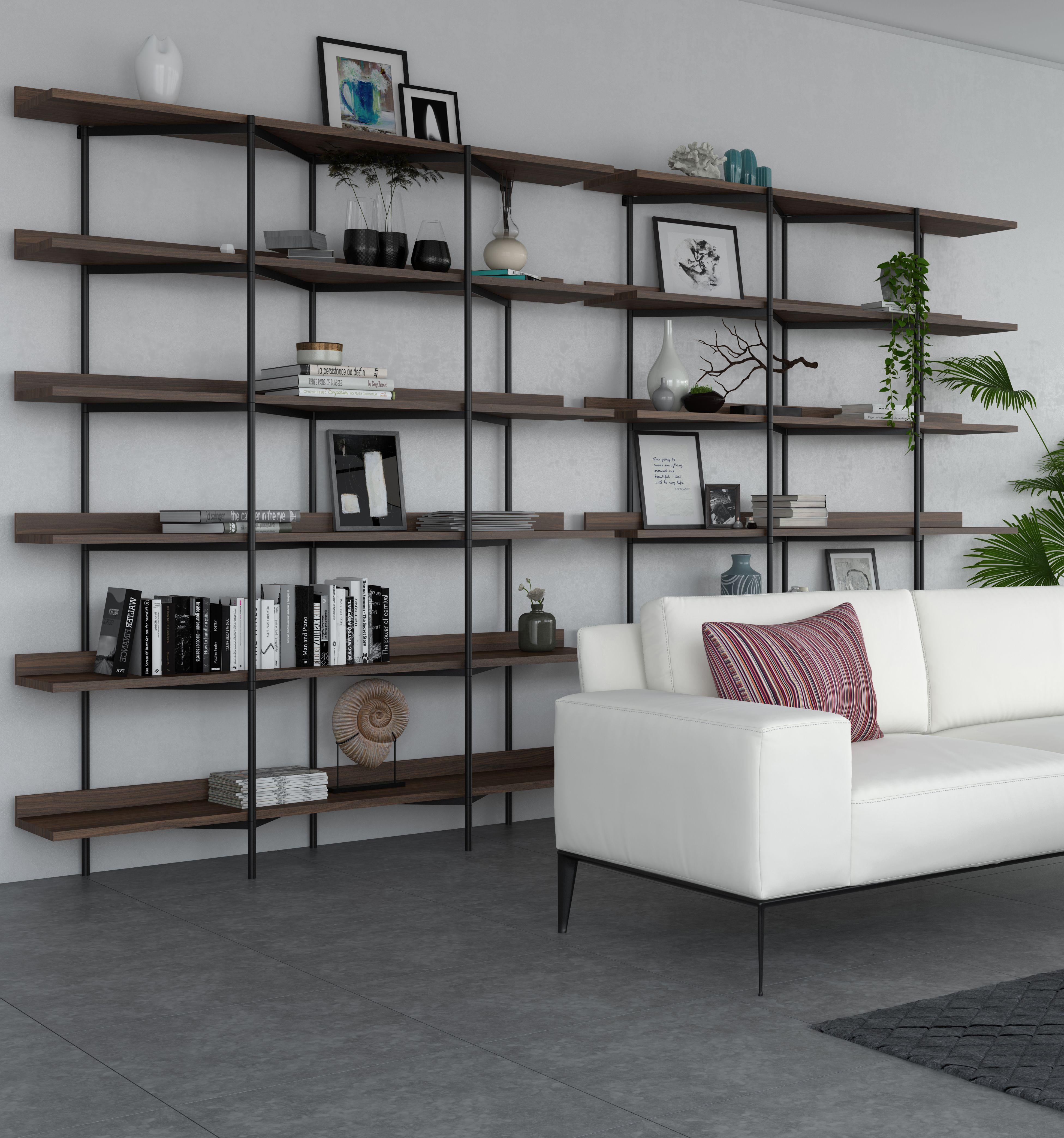 Kite Shelf Unit Built In Shelves Living Room Walnut Shelves Shelves