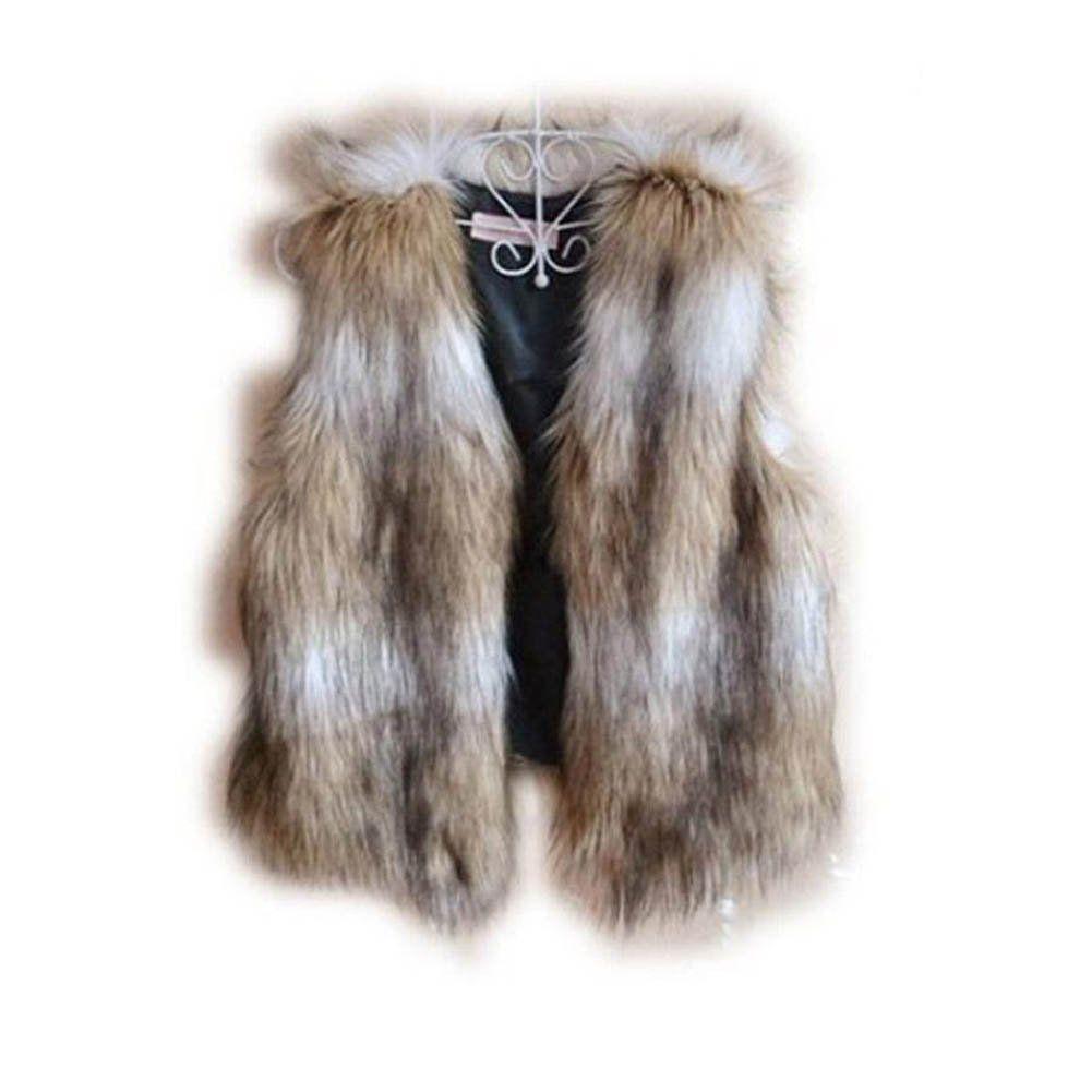 Guys or girls:  Viking Fur Vest