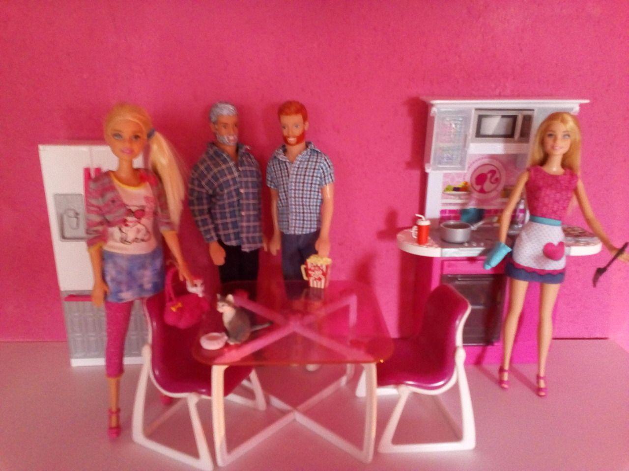 Barbie Badezimmer 9er