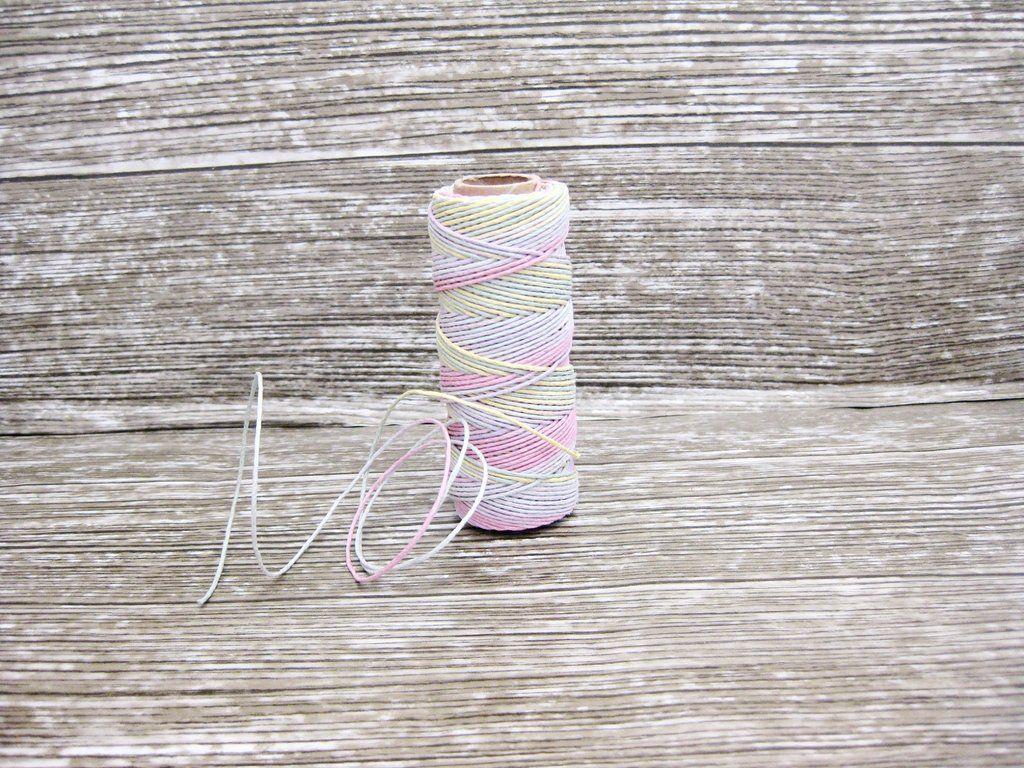 Hemp Twine Multicoloured Pastel