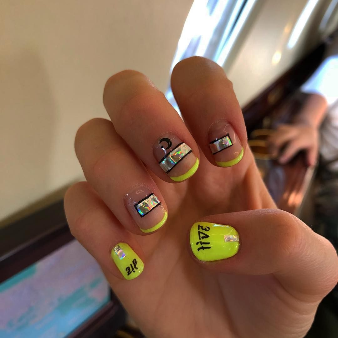 manicure | Stylish nails designs, Stylish nails, Blue nails