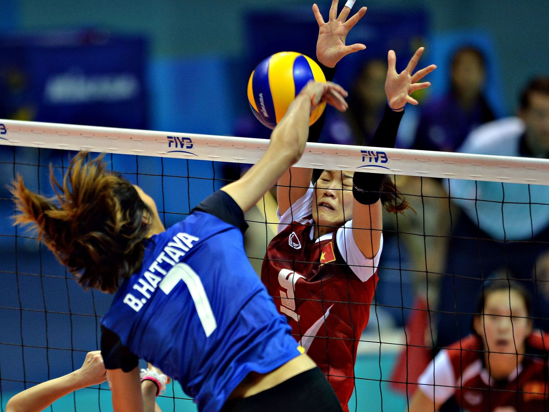 Day In Sports Women Volleyball Asian Games Ball Exercises