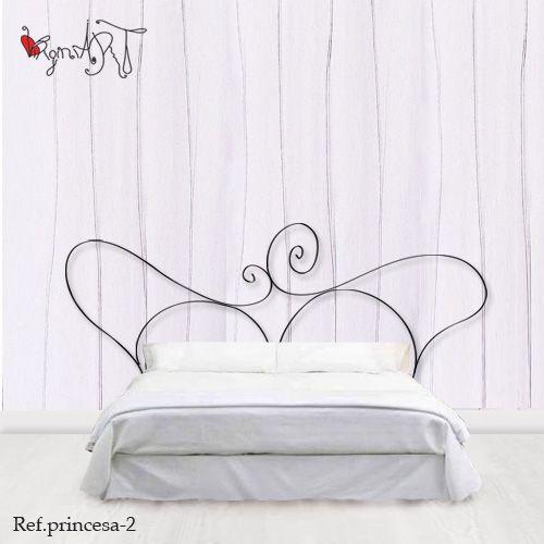 Cabeceros de forja http://virginiart.es Muebles y cabeceros de cama ...