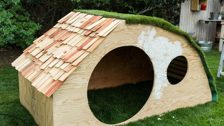 Diy Hobbit Hole Playhouse With Images