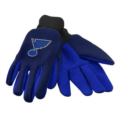 St. Louis Blues NHL 2015 Ulitity Glove - Colored Palm