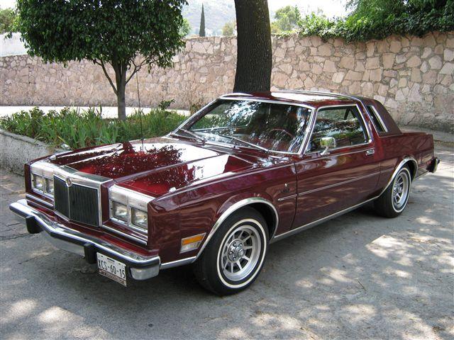 Chrysler Lebaron Coupe 1981 Autos Coches Chulos Coches Clasicos