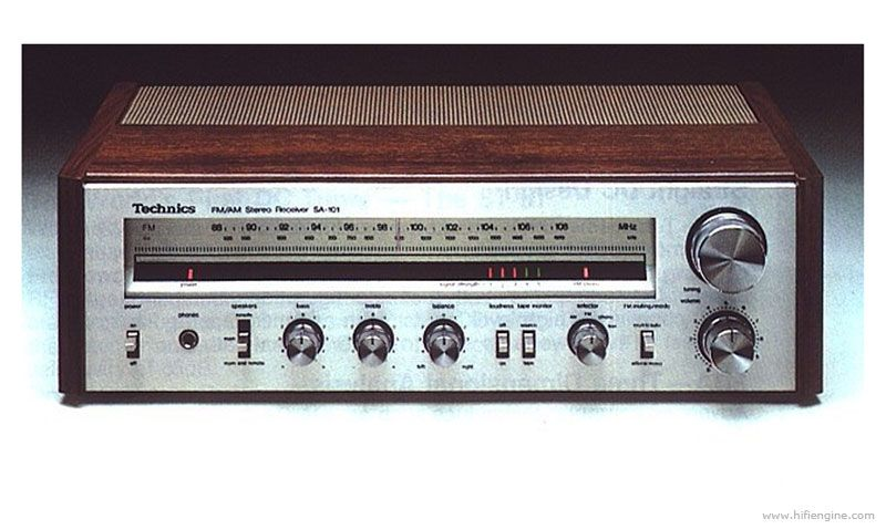 Technics SA-101 Manual - AM/FM Stereo Receiver - HiFi Engine